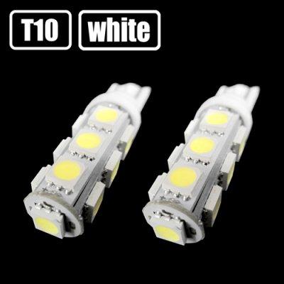 画像1: T10/T16 ホワイト 3chip 13連