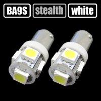 BA9S(G14) ホワイト 3chip 5連