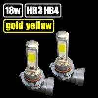 GOLD YELLOW(ゴールドイエロー) COB HB3/HB4 フォグランプ