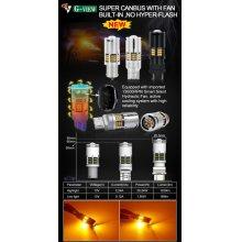 他の写真2: S25 抵抗内蔵ウインカー シングル ピン角150° プロジェクター/油圧ファン内蔵